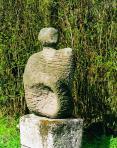 Cím nélkül (Nő), 1969-70 kl, andezit, m: 67 cm