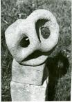 Áttört forma II., 1969-70 kl, andezit, m: 30 cm
