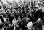 A Nalaja Happening, Fő tér, Szentendre, 1970 (még vidáman viccelődve) (jobbra középen M