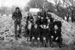 A Vízműnél, Szentendre, 1972 kl (balra M. G.)