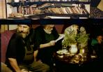 Aknayéknál, 1997. dec. 30. - 1998. jan. 2. (balról M. G., HannFerenc., Bitzák Péter)