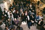 I. Emlékkiállításának megnyitója, VLS Pm, Szentendre, 1999 (jobbról Wehner Tibor)