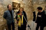 II. Emlékkiállításának megnyitója, VLS Pm, 2007 (balról A. J., R. Matyófalvi Judit, N. T.)
